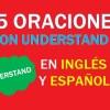 25 Oraciones En Inglés Con Understand | Sentences With Understand