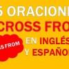 25 Oraciones Con Across From En Inglés ✔ Frases Con Across from⚡