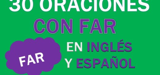 Oraciones Con Far En Inglés