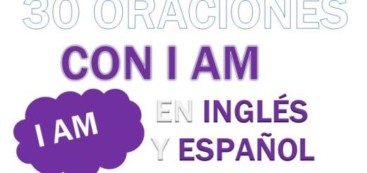 Oraciones Con I am En Inglés
