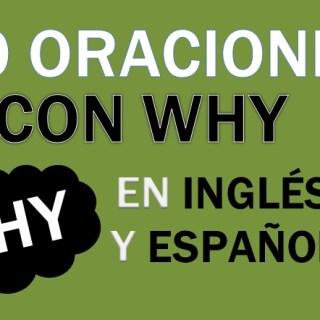 Oraciones Con Why En Inglés