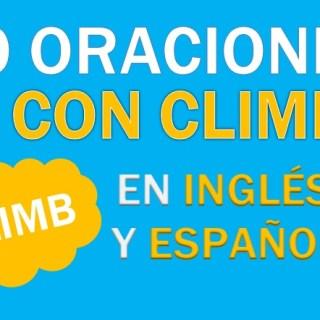 Oraciones Con Climb En Inglés