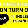 30 Oraciones Con Turn On En Inglés | Frases Con Turn On