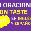 30 Oraciones En Inglés Con Taste | Frases Con Taste