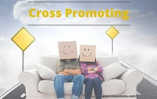 cross promoting on social sites