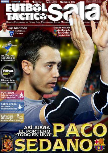 Paco Sedano, todo en uno. Colaboración con Fútbol Táctico