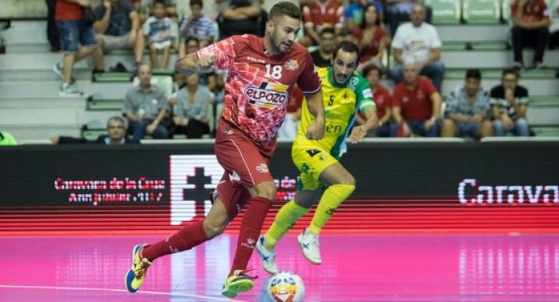 Pito, jugador de ElPozo Murcia. Foto LNFS