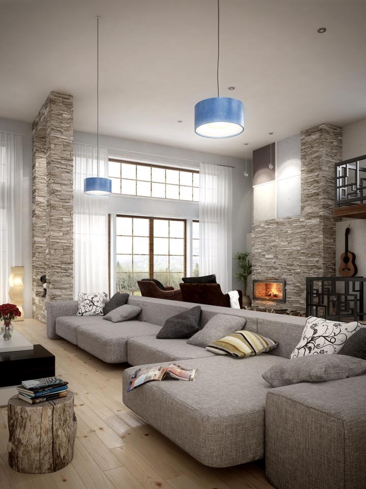 Modelos 3D Gratis LXVIII  Casa Ucrania Interior  ejeZeta