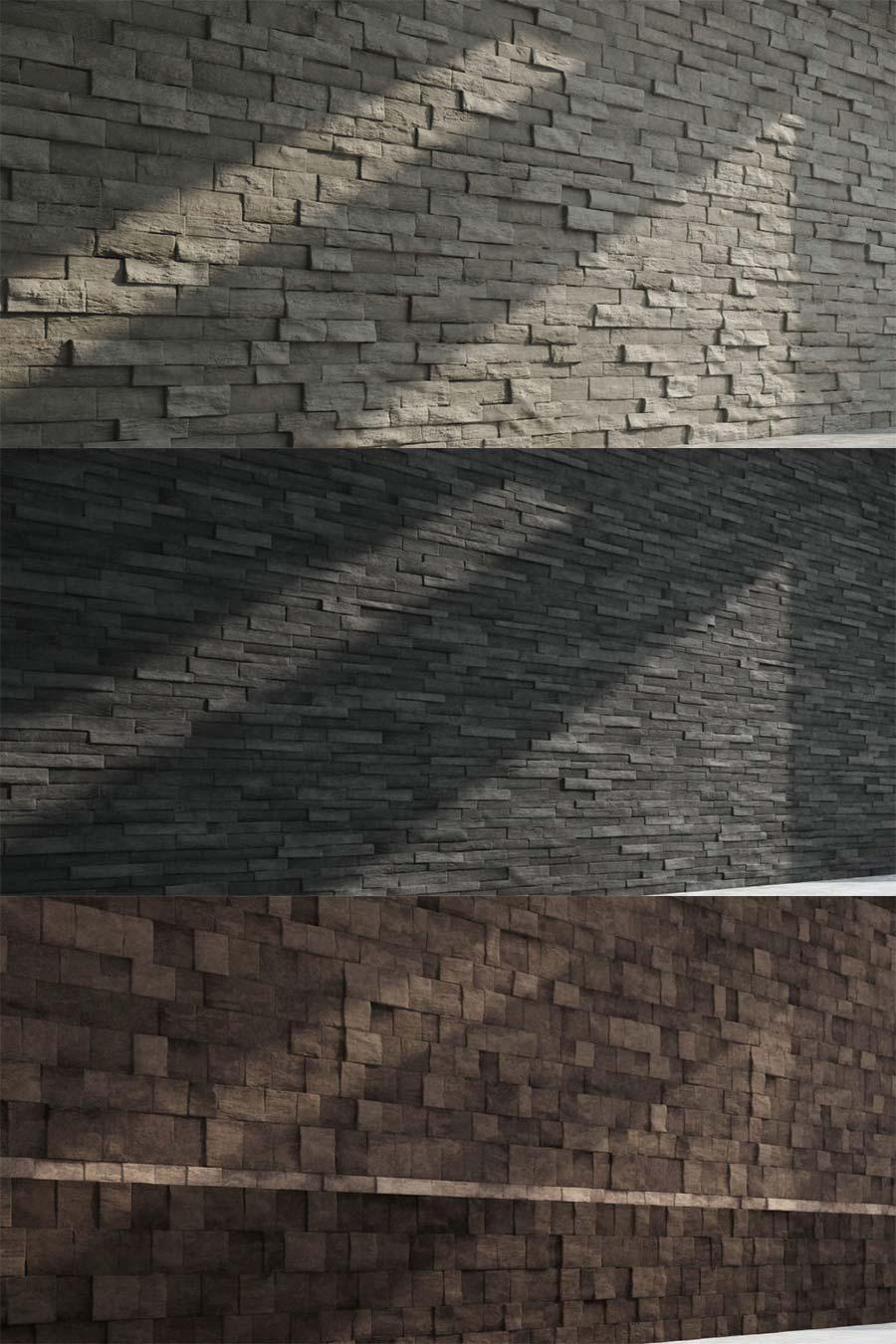 Texturas Gratis XV  Muros de Piedra  ejeZeta