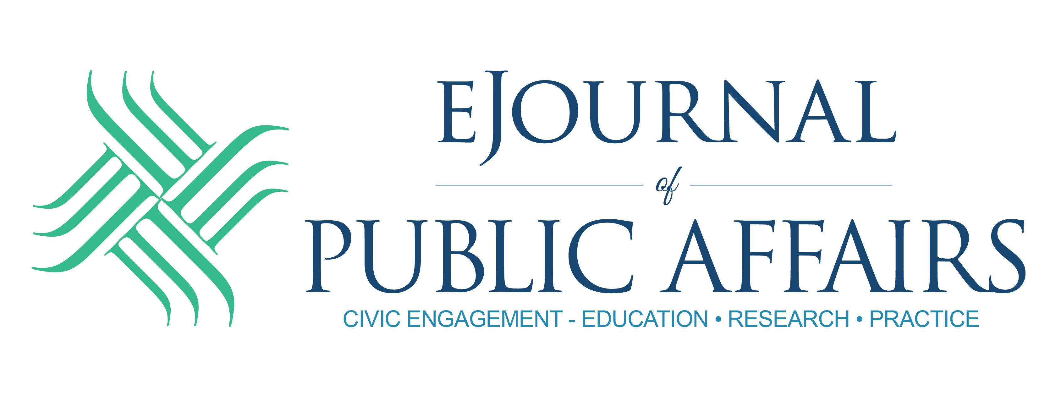 Image of the eJournal of Public Affairs Logo