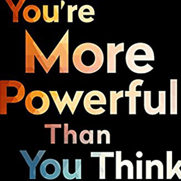 Book cover titled Book Review: You're More Powerful Than You Think: A Citizen's Guide to Making Change Happen