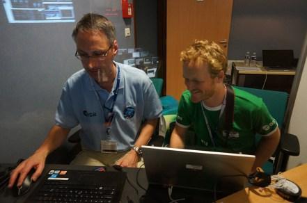 Daniel and Julien blog for ATV docking