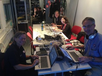 Manning the tweetdecks for #cometlanding 2014