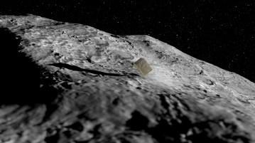 AIM asteroid lander