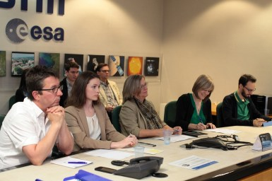 Publishing meeting at ESRIN.