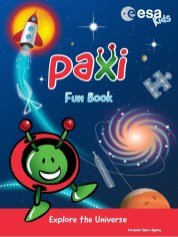 Paxi Kids Fun book with plenty of educational and hands-on activities.