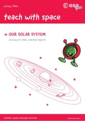 Teachers guide to teaching space featuring Paxi.
