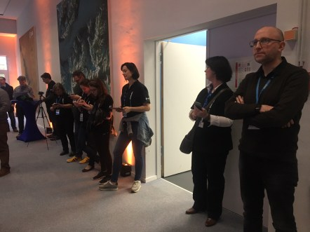 #Sentinel2Go social media launch event at ESOC, Darmstadt, Germany, 6-7 March 2017.
