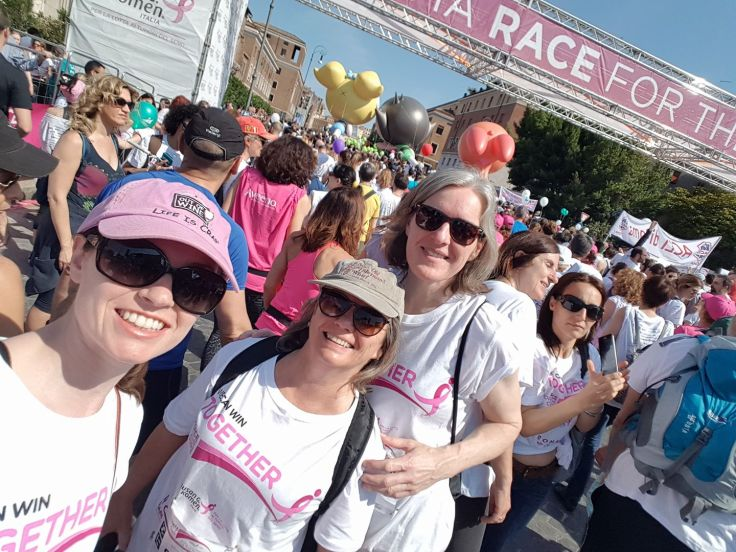 EJR-Quartz in Race for the Cure, Rome May 2018