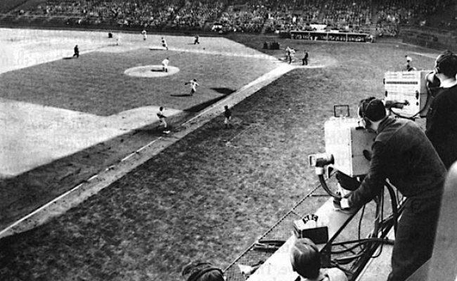 Baseball On Tv By Deborah Tudor