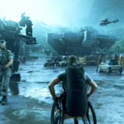 Wheelchair On Fire Pressed Back Chairs The Tracks Of Sully's Tears: Disability In James Cameron's