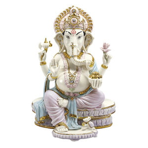 GANESHA WITH PINK DHOTI-4845