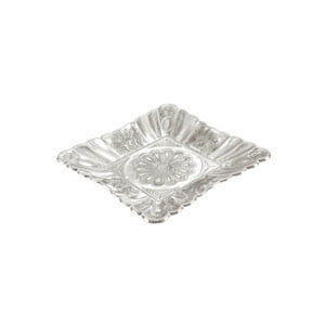 PEACOCK SQUARE TRAY MEDIUM-5317