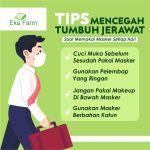 5 TIPS MENCEGAH JERAWAT SAAT PAKAI MASKER SETIAP HARI