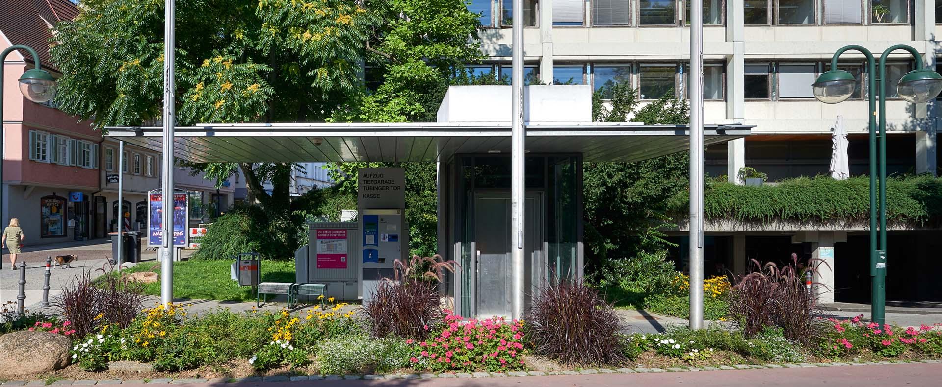 Aufzug Tiefgarage In Reutlingen L E+K Architekten
