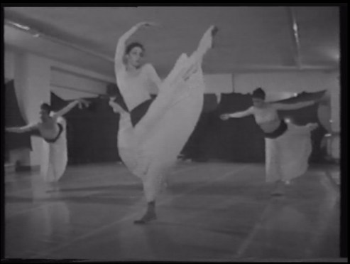 Dancing with the Nafsika ballet company