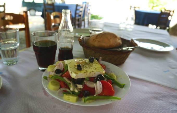 A REAL Greek Salad