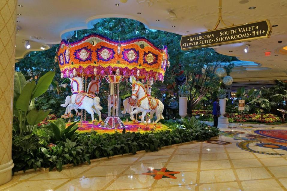 The Bellagio Flower Garden