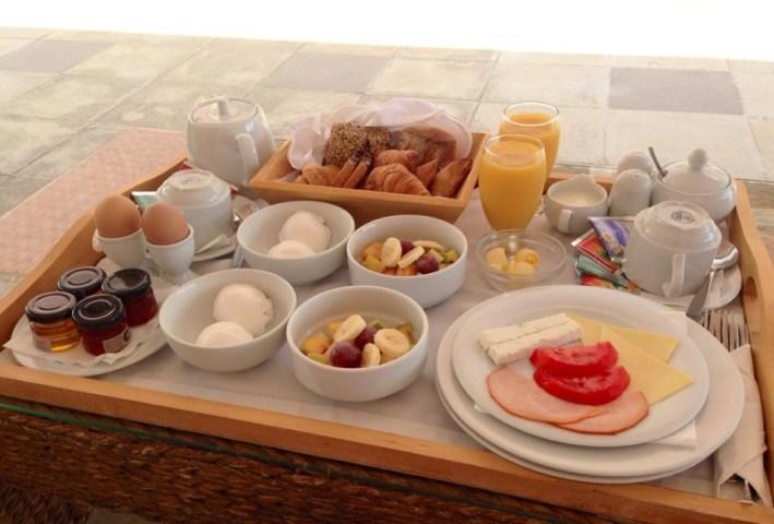A wonderful breakfast!