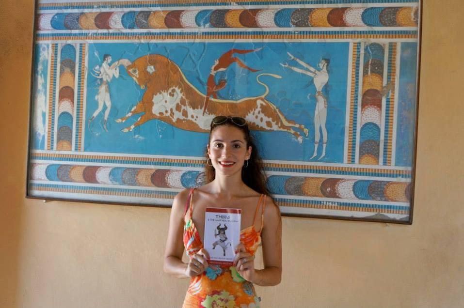Taking my book to Crete
