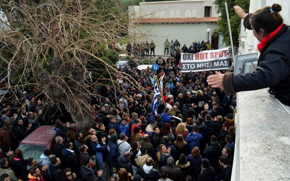 Image result for chios protest
