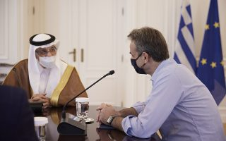 mitsotakis-meets-saudi-investment-minister-in-athens