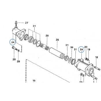 Huvudbromscylinder (Renoverad)