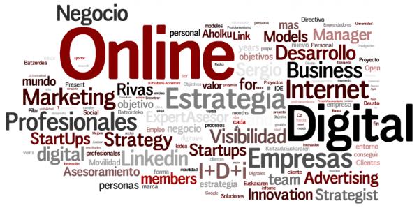 Resumen de Keywords Perfil Linkedin Sergio e-Kikus.com