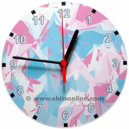 Angled Clock
