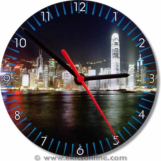 Hong kong Clock