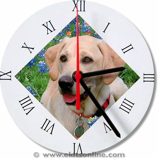 Labrador Clock