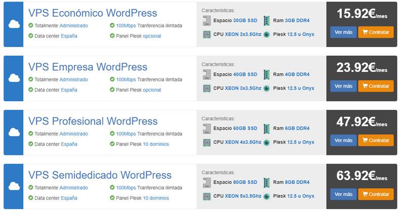 vps wordpress