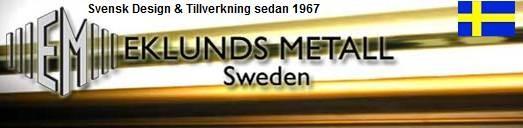 Vägglampa Eivor Borstad Safirblå. Eklunds Metall