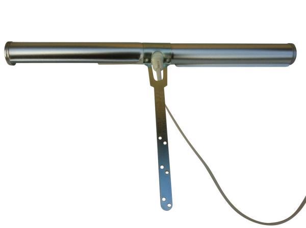 Tavelbelysning Art 2 Borstad Aluminium. Eklunds Metall