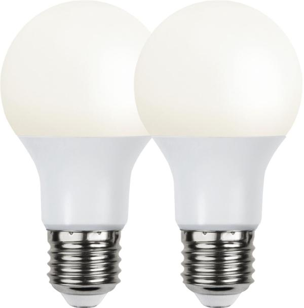 2P Led-Lampa E27 A60 Opaque Basic 3000K.