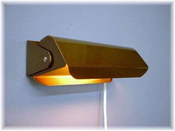 Vägglampa Martin Antik. Eklunds Metall