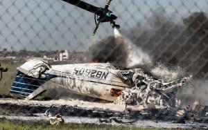 BREAKING: Plane Crashes In Abuja, All Passengers Aboard Dead