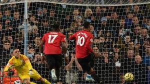 EPL: Manchester United Crush Man City In Derby Match