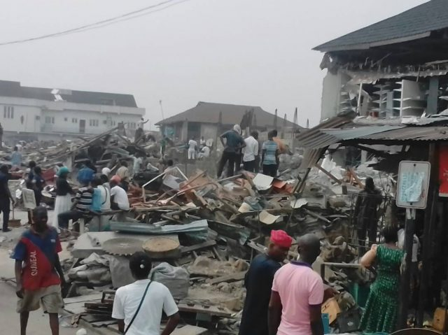 Scores Of Buildings Marked For Demolition In Lagos
