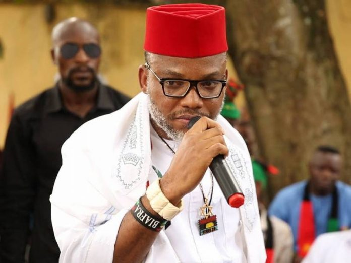 Nnamdi Kanu Reacts To Arrest Of ESN Commander